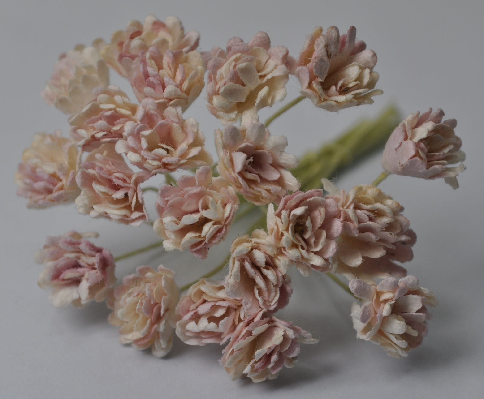 Pale Dusky Pink Gypsophila Forget Me Not Mulberry Paper Flowers